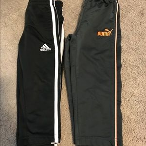 Other - Adidas and Puma Track Pants size 2T